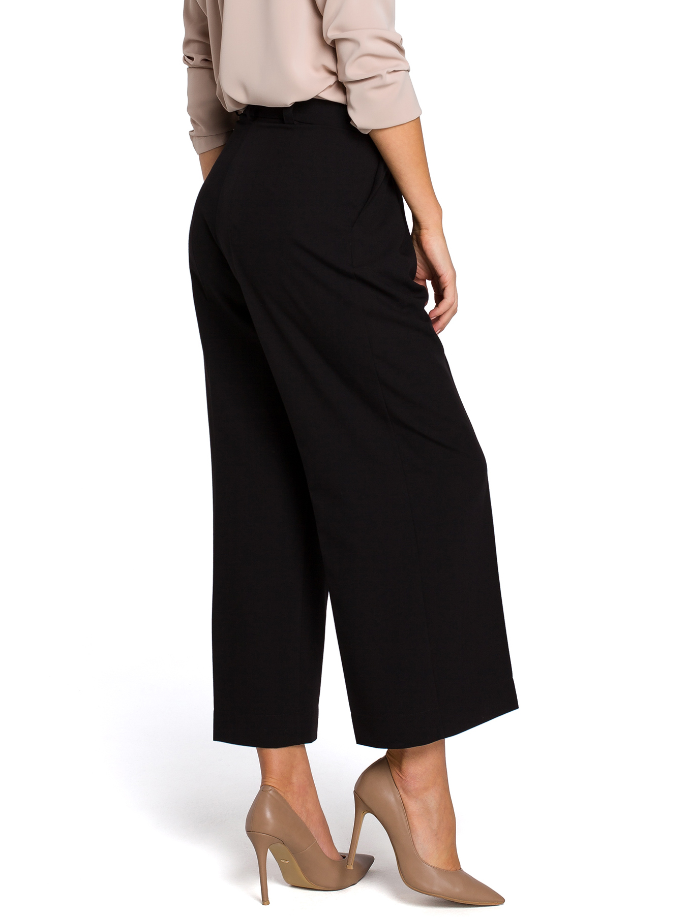 STYLE culottes musta S139
