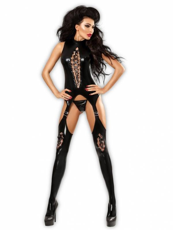 OUTLET Lolitta Horny Wetlook bodystocking