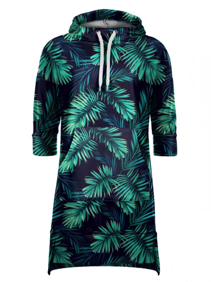 Mr Gugu Tropical Explosion Hoodie Dress