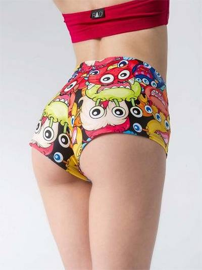 RAD Polewear Monsters shortsit