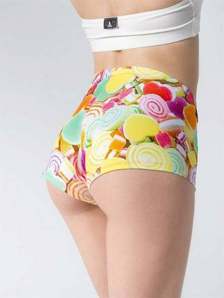 RAD Polewear Lollipop shortsit