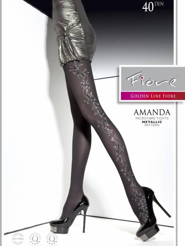 Fiore Amanda 40 den lurex-sukkahousut - Leeloo - Korkealaatuisia ... caa04ea7bb
