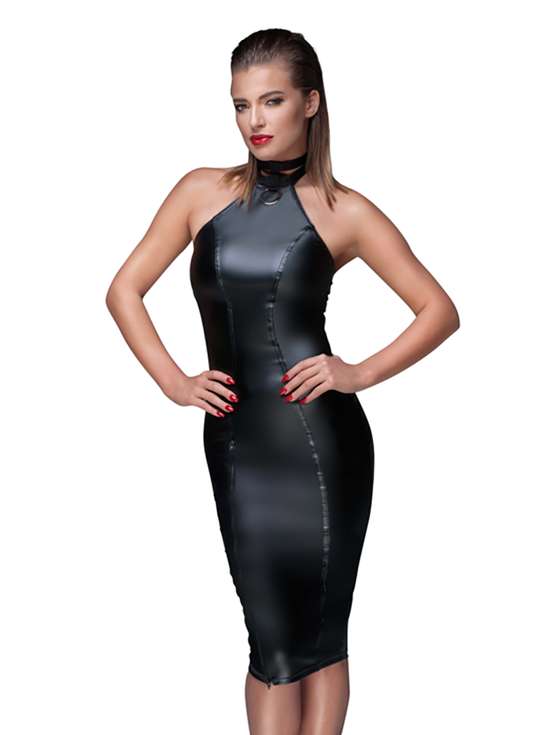 Noir Muse Dress F160