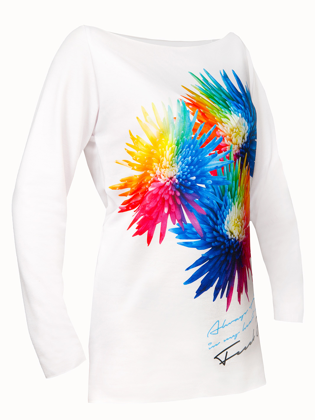 Feel Joy Floral Sweatshirt