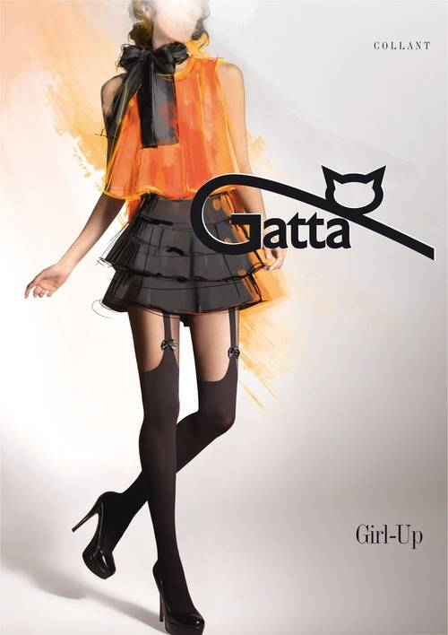 Gatta Girl-Up sukkahousut rusetti