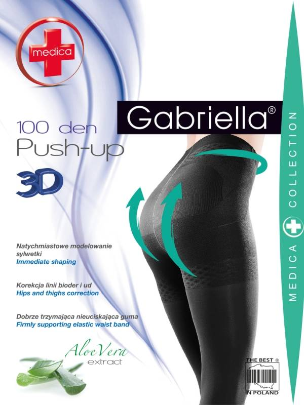 Gabriella Push-up 100 den sukkahousut